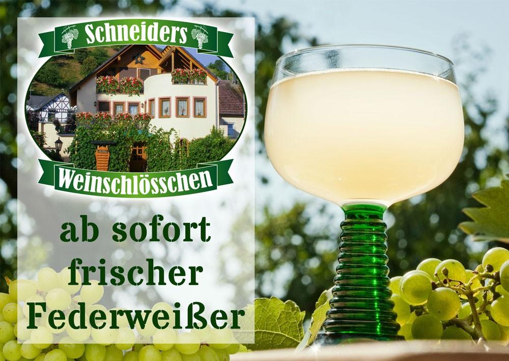 Schneiders Weinschlösschen / Federweißer